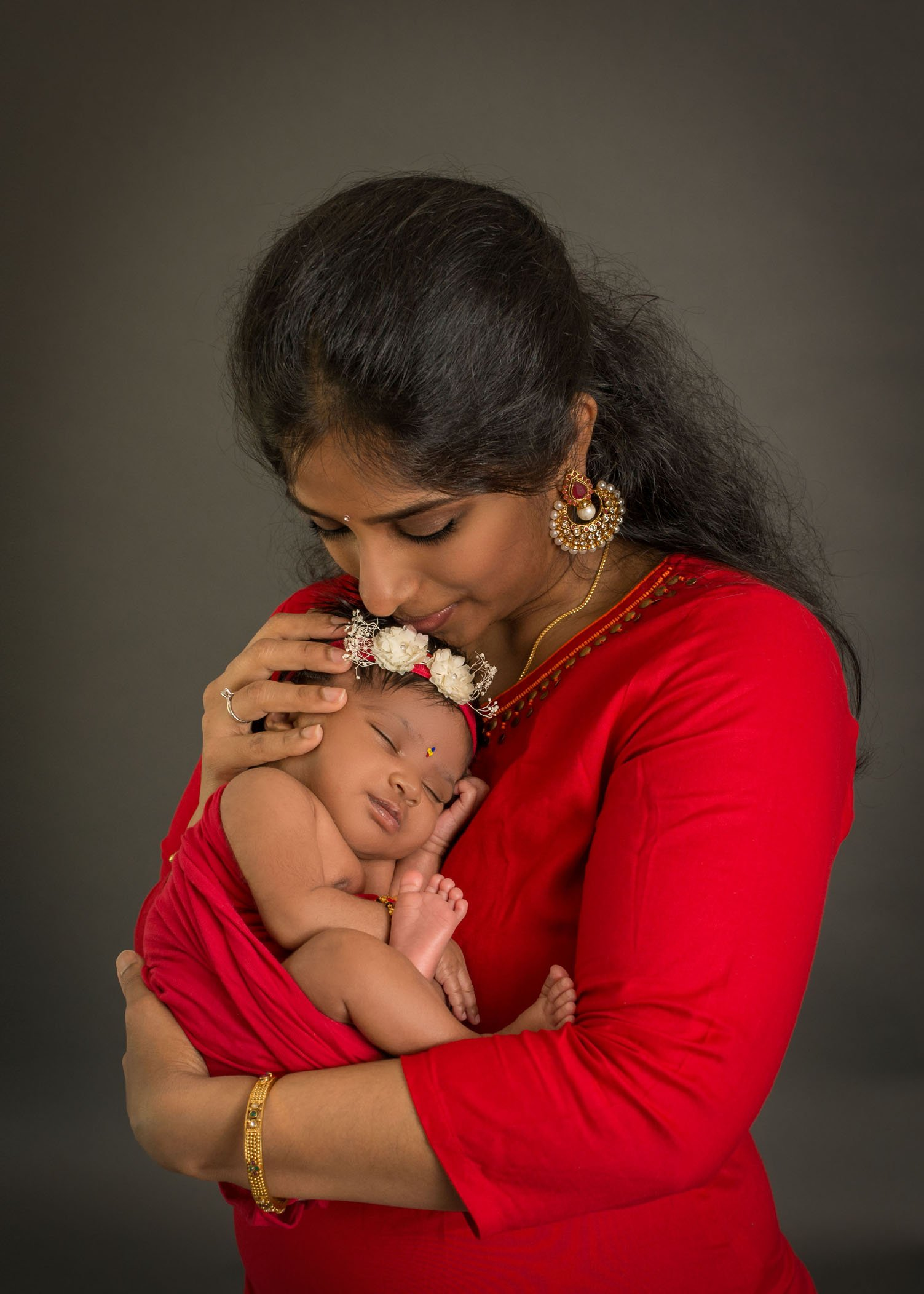 Nihira ~ Vibrant Indian Newborn Photos | Glastonbury, CT ...