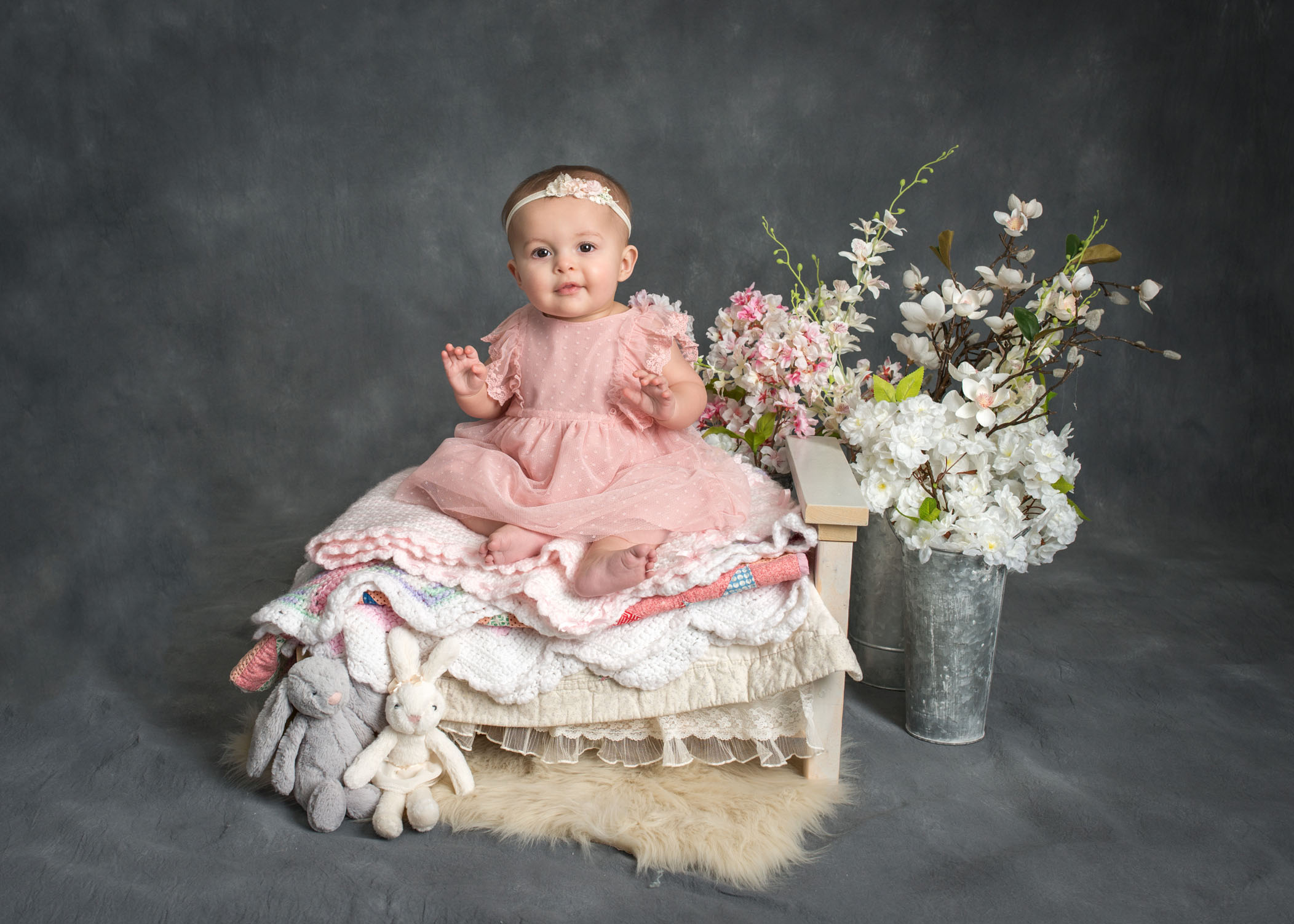 641da2153 Madelyn ~ Studio session for 6 month old baby girl